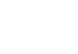 Great Big Smiles logo white